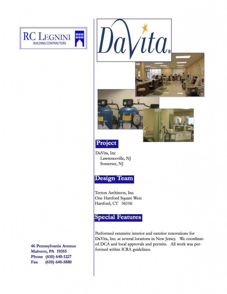 Davita Split page