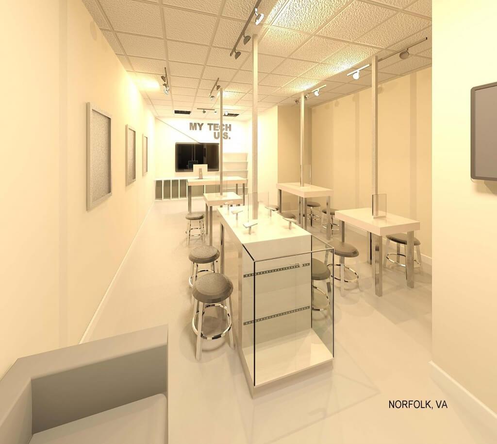 RENDER VIEW- NORFOLK-Opt. Square Metal table legs