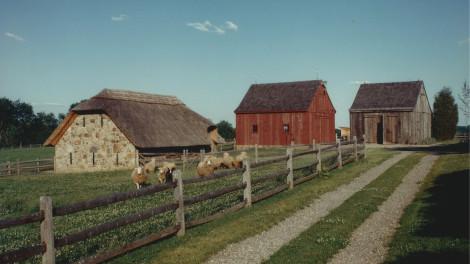 Historically Inspired New Farm