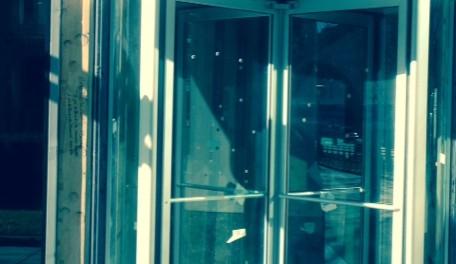 Haru Sushi Boston - New Revolving Door Installation