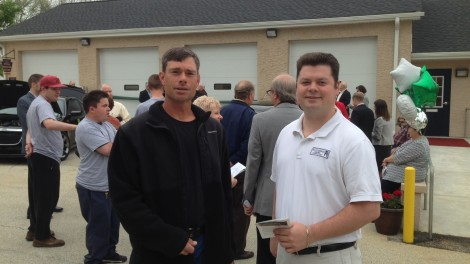 Devereux Foundation Dedication - Job Superintendent, Jim Heimberger and Business Development Manager, David Brisbin